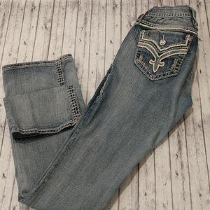 Rock Revival Donna Bootcut Blue Jeans